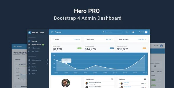 Hero-PRO-Bootstrap-4-Admin-Dashboard-Theme-Nulled-Download