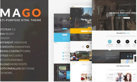 Imago-Multipurpose-HTML5-Template-Nulled-Download