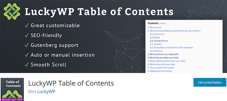 LuckyWP-Table-of-Contents-for-AMP-Nulled-Download