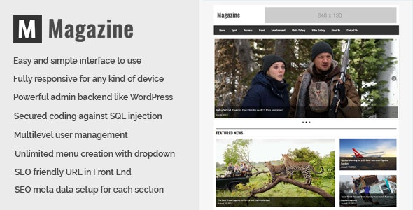 Magazine-Online-News-and-Magazine-CMS-Nulled-Download