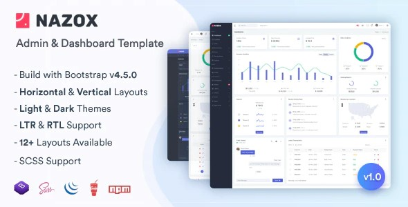 Nazox-Admin-Dashboard-Template-Nulled-Download
