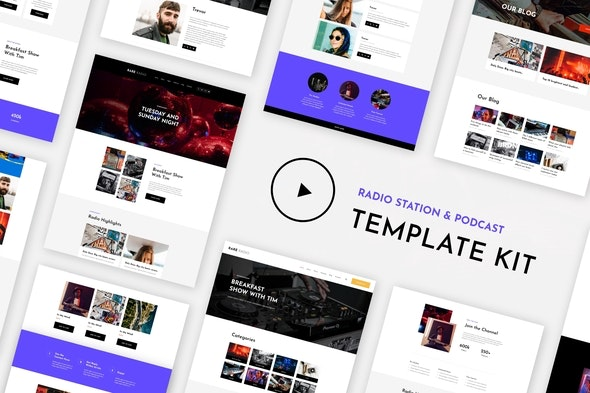 RareRadio-Music-Streaming-Elementor-Template-Kit-nulled-download