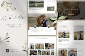Robbie-Magie-Wedding-Event-Invitation-Elementor-Template-Kit-Nulled-Download