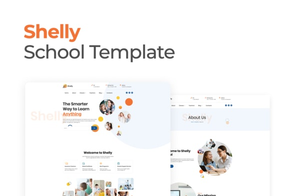 Shelly-School-Template-Kit-for-Elementor-Nulled-Download