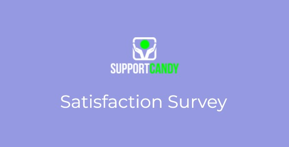 SupportCandy-Satisfaction-Survey-Nulled-Download