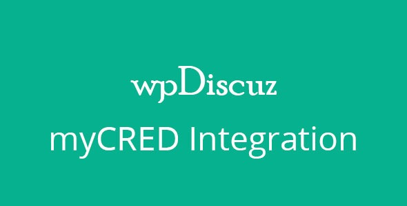 wpDiscuz-myCRED-Integration-Nulled-Download