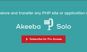 Akeeba Solo Pro Nulled Download