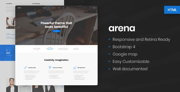 Arena-Business-Agency-HTML5-Template-Nulled-Download