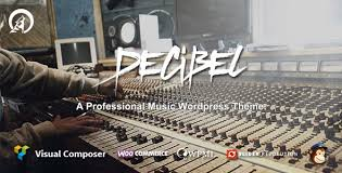 Decibel-Professional-Music-WordPress-Theme-Download-Nulled
