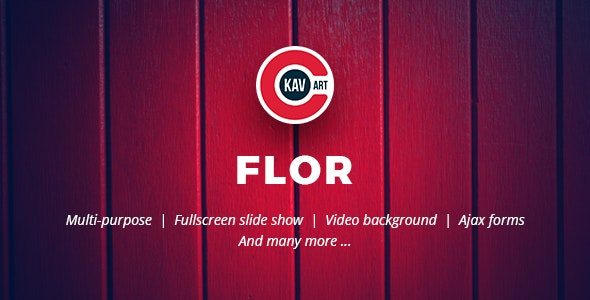 Flor-HTML-Responsive-Template-Nulled-Download