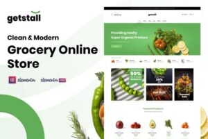 Getstall-Grocery-Store-Elementor-Template-Kit-Nulled-Download