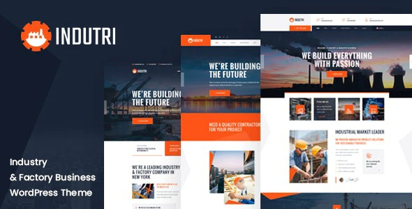 Indutri-Factory-Industrial-WordPress-Theme-Free Download