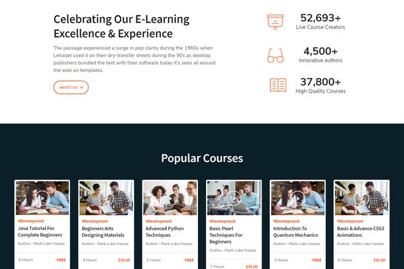 LearnKit-e-Learning-Elementor-Template-Kit-Nulled-Download