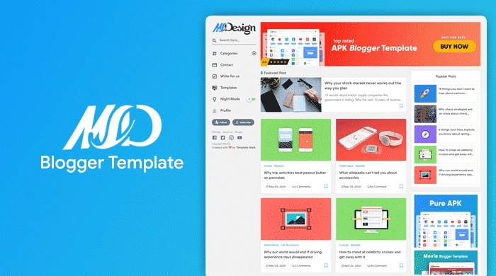 MSD-Responsive-Grid-Style-Blogger-Template-Nulled-Download