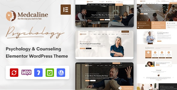 Medcaline-Psychology-Counseling-WordPress-Theme-Nulled-Download