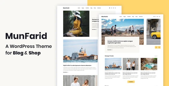 Munfarid-A-WordPress-Theme-For-Blog-Shop-Nulled-Download