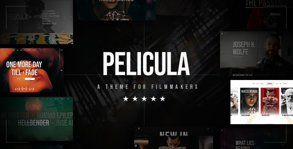 Pelicula-Video-Production-and-Movie-Theme-Nulled-Download