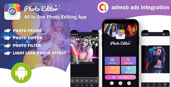 Photo Editor All In One Photo Editing App With Admob Ads Nulled Download
