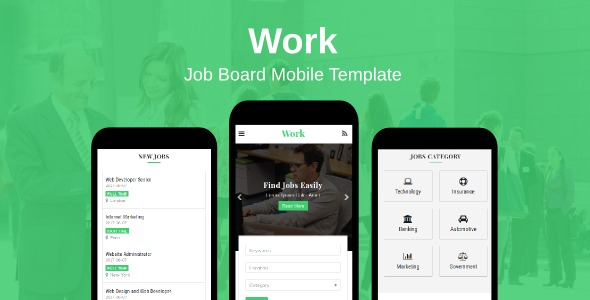 Work-Job-Board-Mobile-Template-Nulled-Download