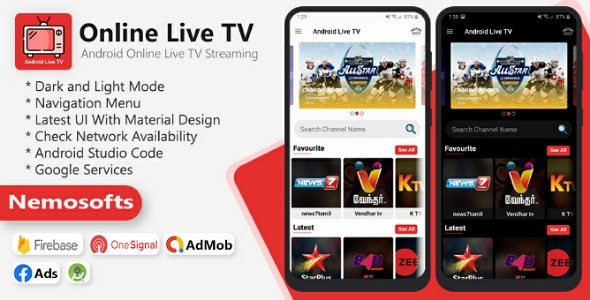 Android Online Live Tv Streaming.nulled Download