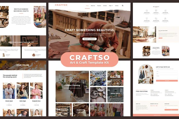 craftso-crafting-elementor-template-kit-Nulled-Download