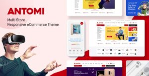 Antomi - Multipurpose Theme for WooCommerce WordPress Free Download