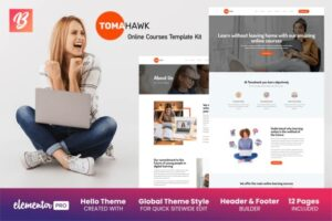 tomahawk-online-courses-template-kit-Nulled-Download