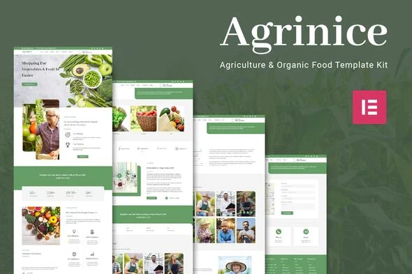Agrinice-Agriculture-and-Organic-Food-Template-Kit-Nulled-Download