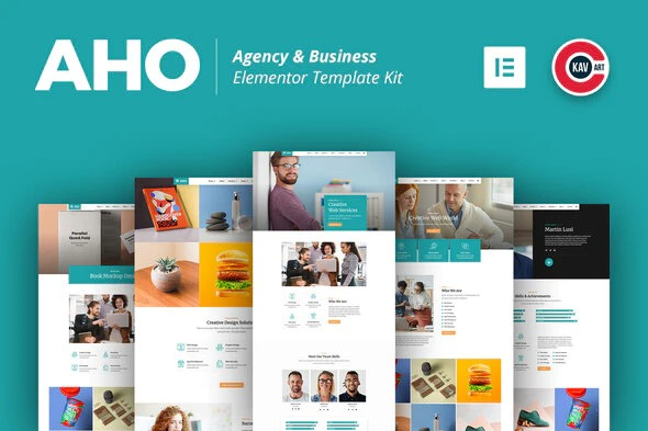 Aho-Agency&Business-Elementor-Template-Kit-Nulled-Download