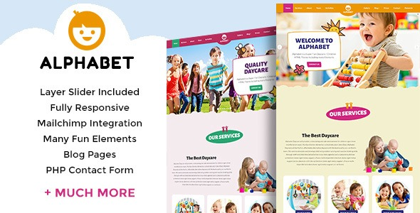 Alphabet-Daycare-School-HTML5-Nulled-Download