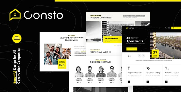 Consto-Industrial-Construction-Company-HTML-Template-Nulled-Download