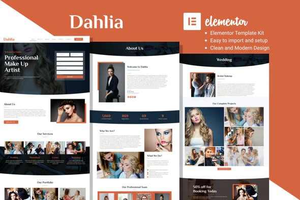 Dahlia-Beauty-Business-Elementor-Template-Kit-Nulled-Download