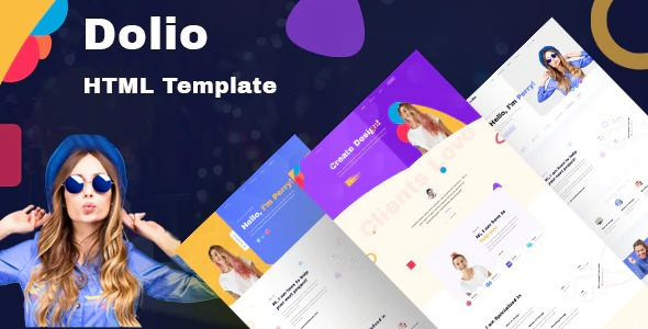 Dolio-Personal-Portfolio-Template-Nulled-Download