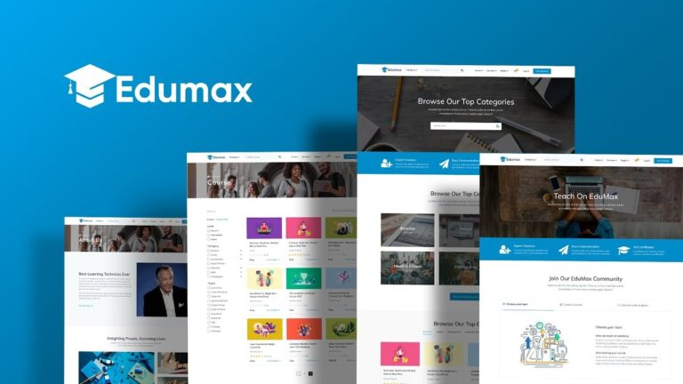 Edumax-WordPress-Theme-To-Build-Online-Course-Portal-Nulled-Download