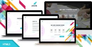 Enva-Creative-Coming-Soon-Template-Nulled-Download