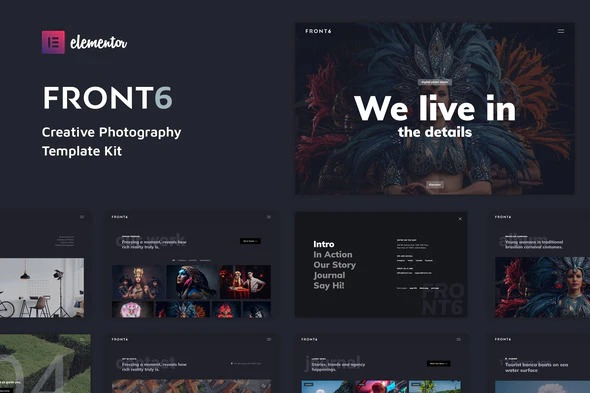 FrontSix-Creative-Photography-Template-Kit-Nulled-Download