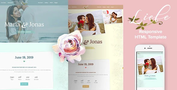 Liebe-Responsive-HTML-Wedding-Template-Nulled-Download