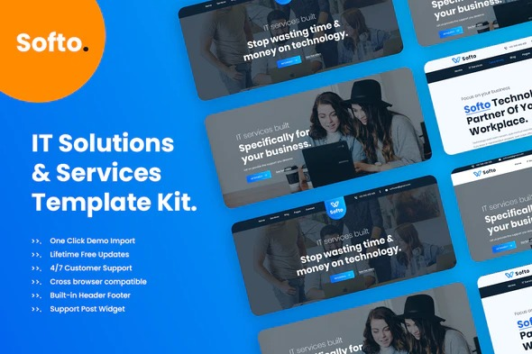 Softo-Template-Kit-for-IT-Solutions-and-Services-Company-Nulled-Download