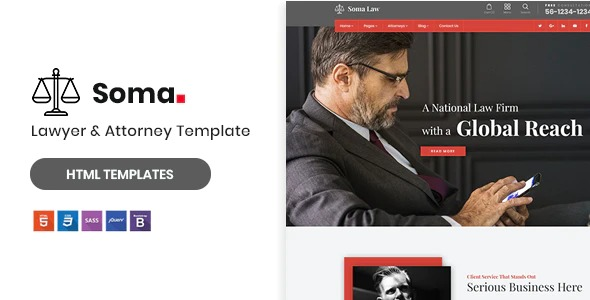 Soma-Lawyer&-Attorney-HTML5-Template-Nulled-Download