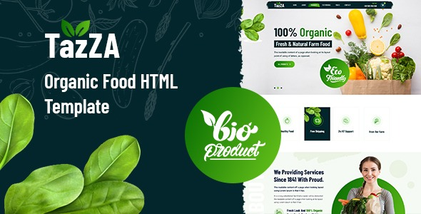 TazZA-Organic-Food-HTML5-Template-Nulled-Download