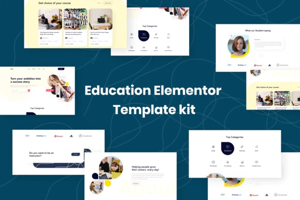 Edukit-Education-Elementor-Template-Kit-Nulled-Download