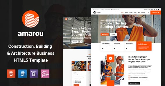 Amarou-Construction-and-Building-HTML5-Template-Nulled-Download
