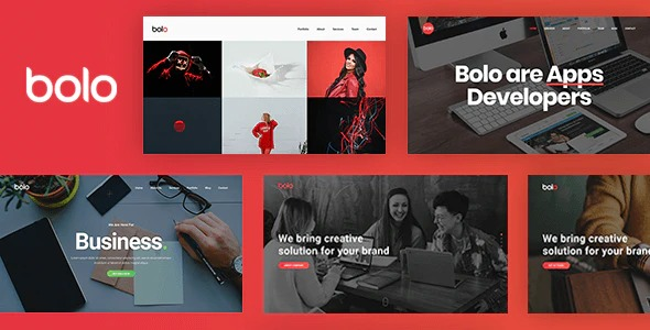 Bolo-One-Page-Creative-Multipurpose-Website-Template-Nulled-Download