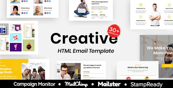 Creative-Multipurpose-Responsive-Email-Template-30+Modules-Mailchimp-Nulled-Download