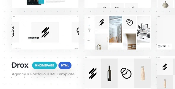 Drox-Nulled-Agency&Portfolio-HTML5-Responsive-Template-Dowload
