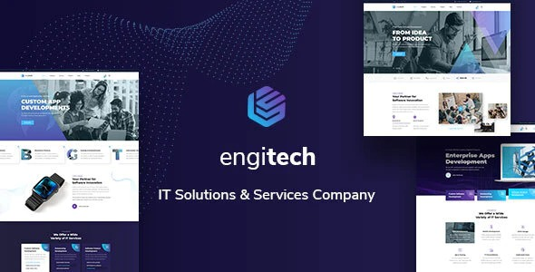 Engitech-IT-Solutions&Services-Template-Nulled-Download