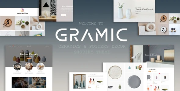 Gramic-Ceramics&Pottery-Decor-Shopify-Theme-Nulled-Download