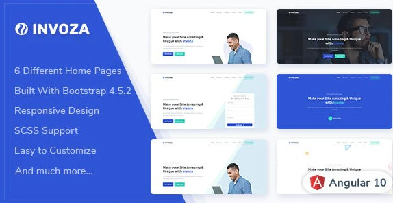 Invoza-Angular-10-Landing-Page-Template-Nulled-Download