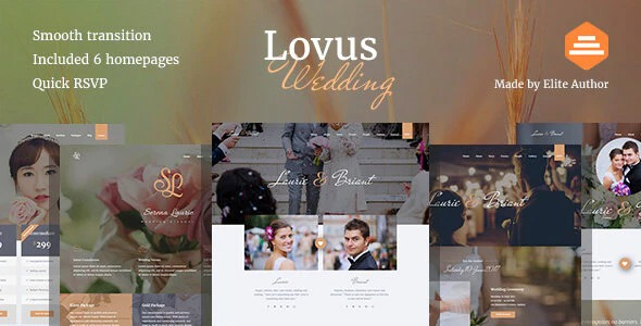 Lovus-Wedding-Website-Template-Nulled-Download