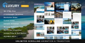 Luxury-Interactive-Hotel-Template-Nulled-Download